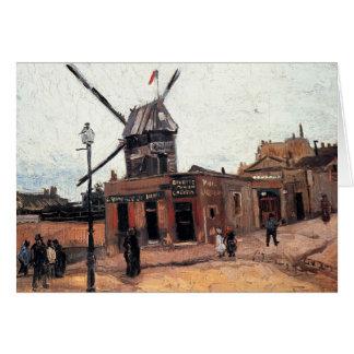 La Galette de Le Moulin de Vincent van Gogh Tarjetas