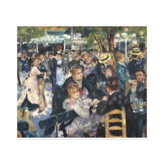 La Galette del Bal du moulin del artista Renoir Impresión En Lona