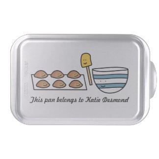 La galleta linda personalizada de Kawaii cubrió la Molde Para Pasteles