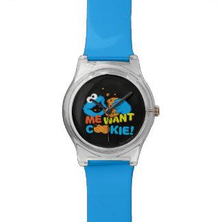 La galleta quiere la galleta reloj