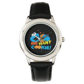 La galleta quiere la galleta relojes