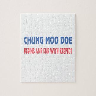 La gama del MOO de Chungkin comienza y extremo con Rompecabeza