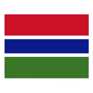 La Gambia, Gabón Tarjeta Postal