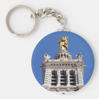 La Garde de Notre Dame de Llavero Redondo Tipo Pin