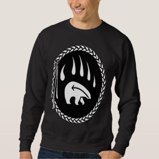 La garra de oso nativo tribal de la camiseta del