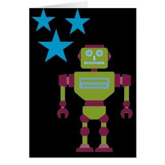 La garra dio el robot tarjeta