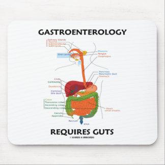 La gastroenterología requiere la tripa (el sistema mousepad