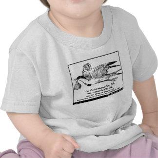 La gaviota gris bondadosa camiseta