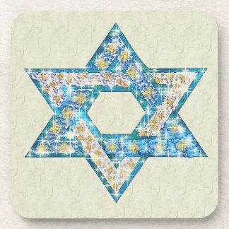 La gema dibujada ratón adornó la estrella de David Posavaso