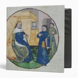 La genealogía de Charles V y de Charles VI