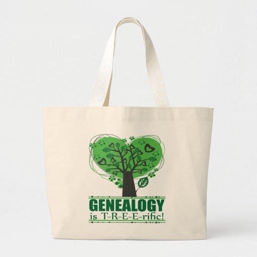 ¡La genealogía es T-R-E-E-rific! Bolsas