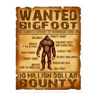 La generosidad de Bigfoot 10 millones de dólares q Postal