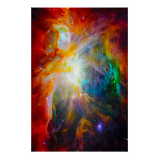 La génesis 1 en dios del principio creó el poster