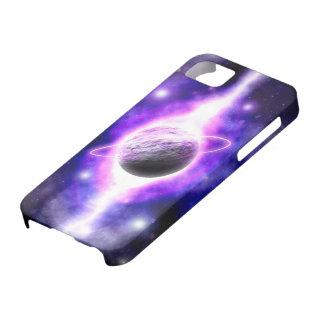 """La génesis sobrepuesta de un planeta"" iPhone5 iPhone 5 Fundas"