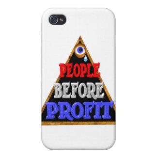 La gente antes de beneficios ocupa la protesta de  iPhone 4/4S funda