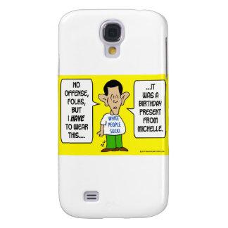 la gente blanca de la camiseta de obama chupa a Mi Funda Para Galaxy S4