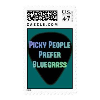 La gente criticona prefiere Bluegrass Estampillas