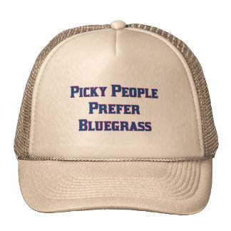 La gente criticona prefiere Bluegrass Gorros