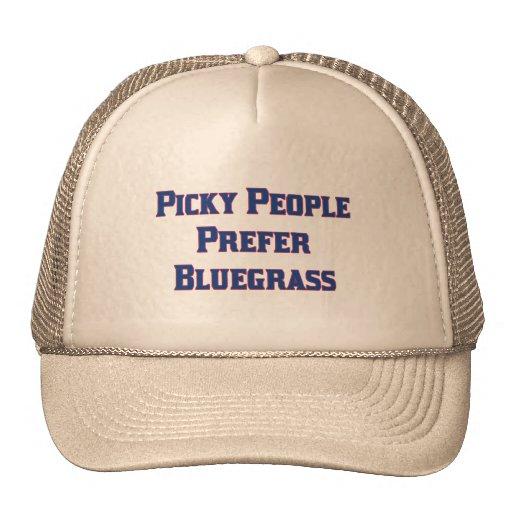 La gente criticona prefiere Bluegrass Gorra