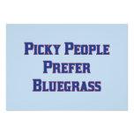 La gente criticona prefiere Bluegrass Invitación