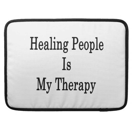 La gente curativa es mi terapia funda macbook pro