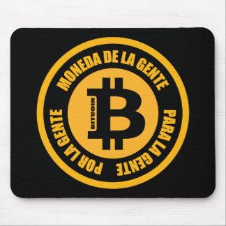 La Gente de Bitcoin Moneda De La Gente Para Gente Alfombrillas De Raton