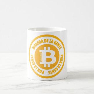La Gente de Bitcoin Moneda De La Gente Para Gente Taza