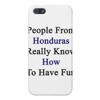 La gente de Honduras sabe realmente divertirse iPhone 5 Carcasa