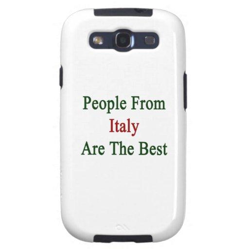 La gente de Italia es el mejor Samsung Galaxy S3 Coberturas
