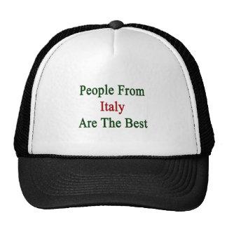 La gente de Italia es el mejor Gorro De Camionero