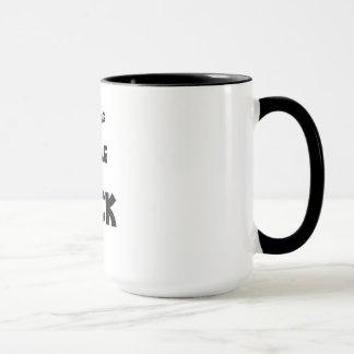 La gente de la mañana chupa la taza