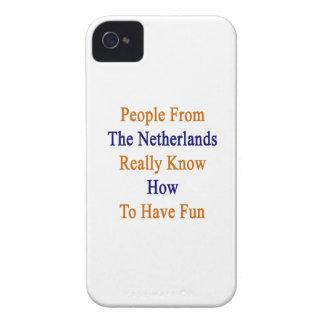 La gente de los Países Bajos sabe realmente a Hav iPhone 4 Case-Mate Fundas