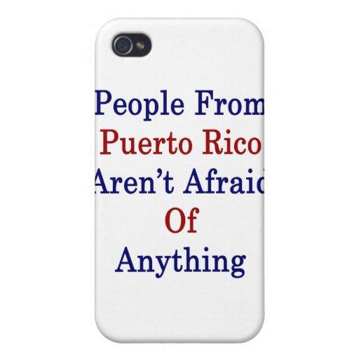 La gente de Puerto Rico no tiene miedo cualquier c iPhone 4/4S Fundas