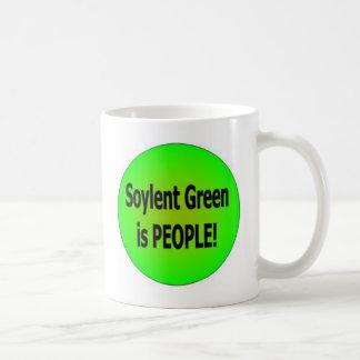 ¡La gente de Soylent es gente! Taza Básica Blanca