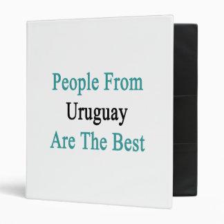 La gente de Uruguay es el mejor