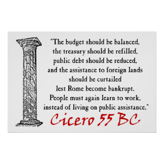 La gente debe trabajar - Cicero Impresiones