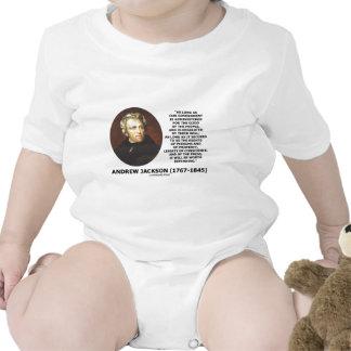 La gente del gobierno de Andrew Jackson Trajes De Bebé