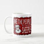 La gente despierta Sheeple Taza De Café