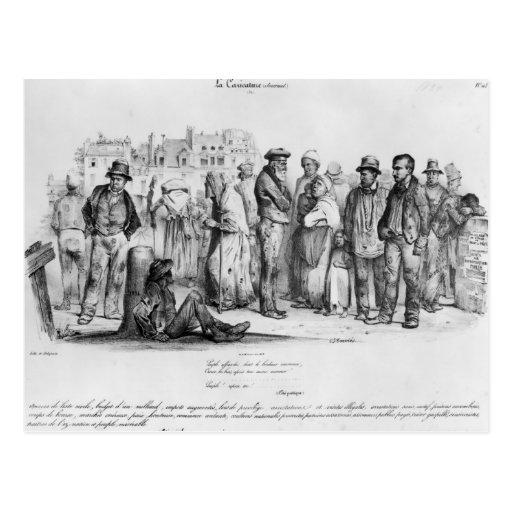 La gente Emancipated, del 'La Caricature Postal