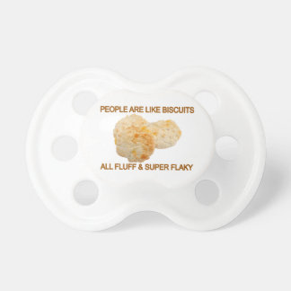 La gente es como las galletas chupetes para bebes
