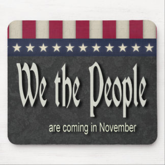 La gente estamos viniendo en noviembre tapete de ratón