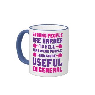 La gente fuerte es más dura de matar