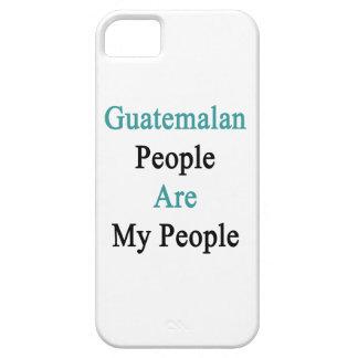 La gente guatemalteca es mi gente iPhone 5 funda