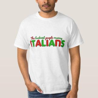 La gente más afortunada casa la camiseta de los polera