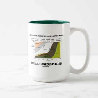 La gente más feliz de los geólogos ígnea es dicha tazas de café