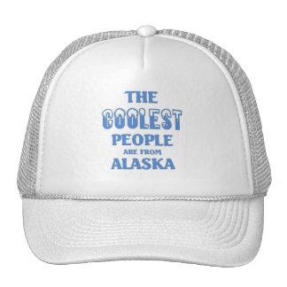 La gente más fresca es de Alaska Gorras