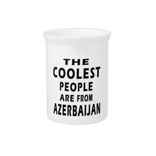 La gente más fresca es de Azerbaijan Jarra De Beber