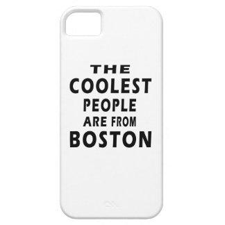 La gente más fresca es de Boston iPhone 5 Case-Mate Carcasas