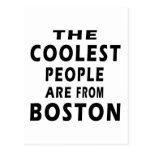 La gente más fresca es de Boston Postal