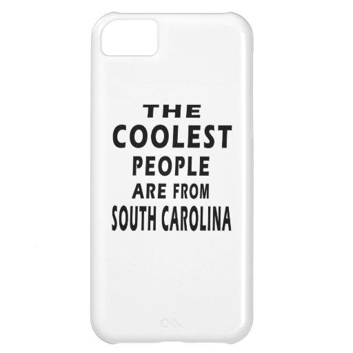 La gente más fresca es de Carolina del Sur Funda Para iPhone 5C